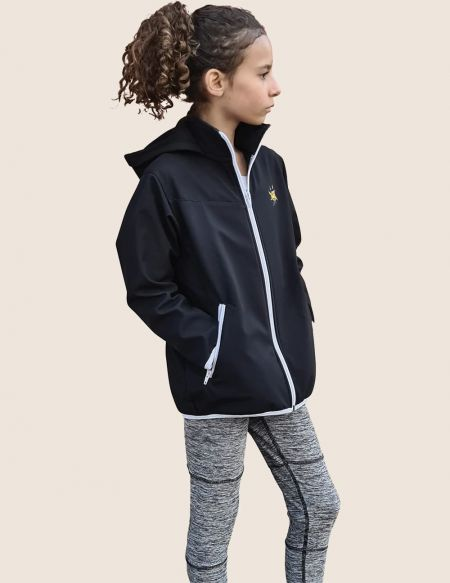 Unisex waterproof softshell sports jacket