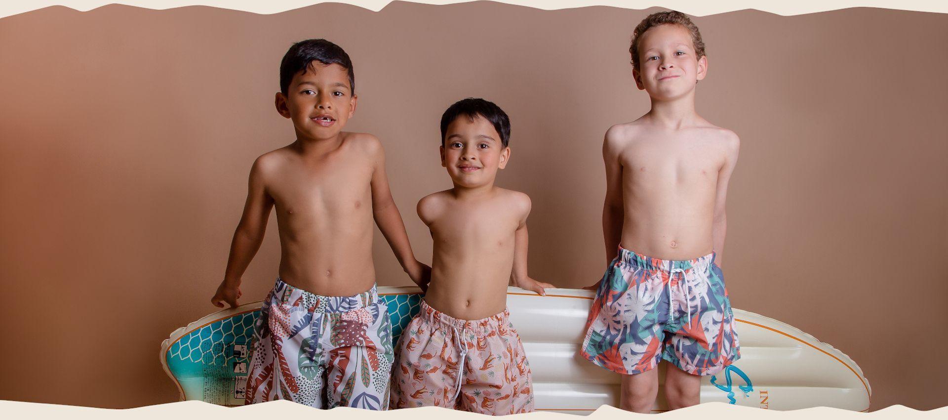 Doux Soleil -  Maillots de bain anti UV pour garçon