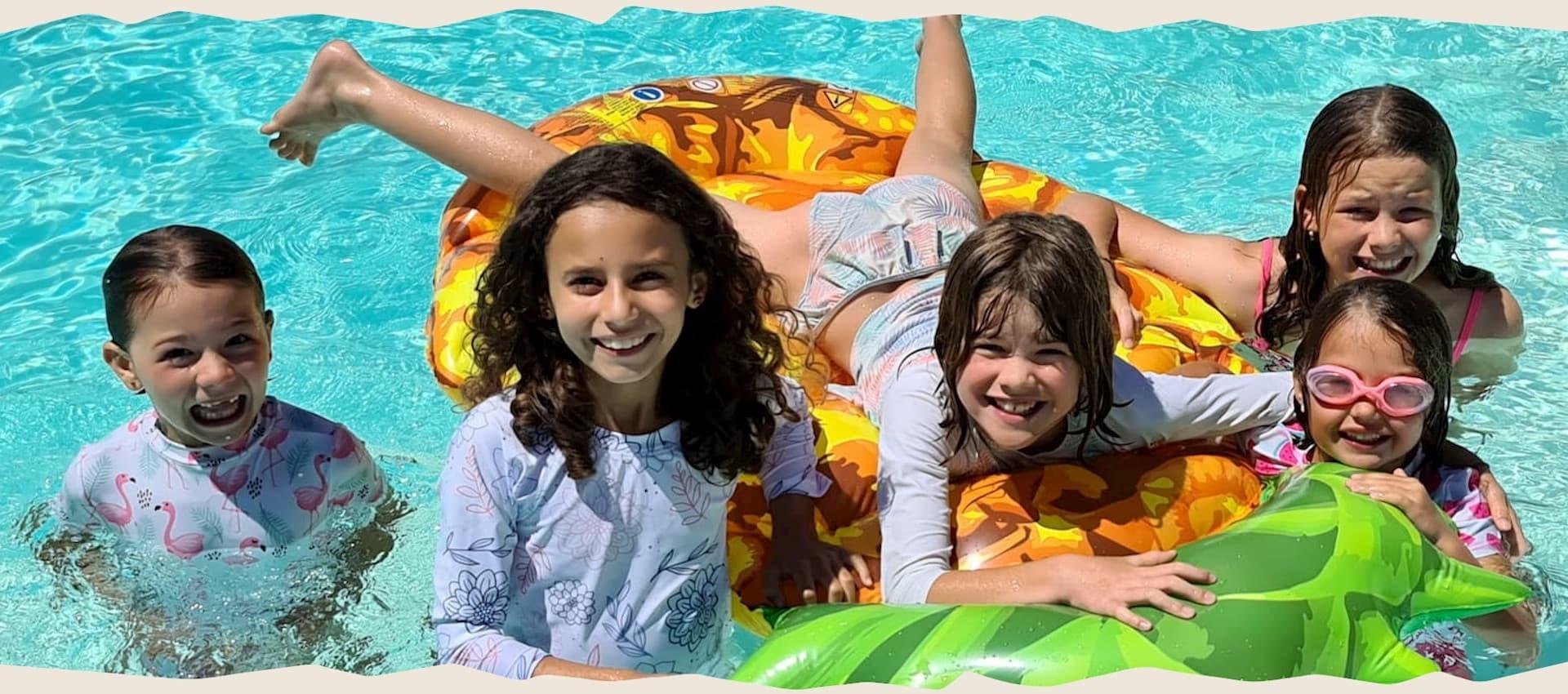 Doux Soleil -  Maillots de bain anti UV pour filles