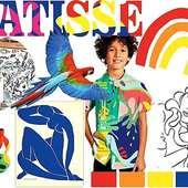 Voici un de nos tableaux d'inspirations pour cet été 2021.  Ce mood board a été inspiré des œuvres de l'artiste français Henri Matisse et de son fauvisme caractérisé par des formes simples, des contours très marqués et des couleurs pures et vives.  Les motifs colorés vous plaisent ? Ne ratez pas notre prochaine collection, bientôt disponible sur notre site www.douxsoleil.fr .