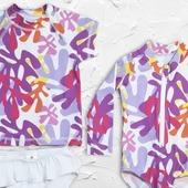 """""""La vie n'est que le reflet des couleurs qu'on  lui donne"""".  Nouveaux maillots de bain filles pétillants  et plein de couleurs 🎨"""